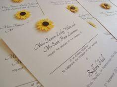 Sunflower Wedding Invitations Ohsopurrfectcouk