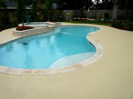 Seal Krete Floor Tex Home Depot by Concrete Miracles Pool Deck With Knockdown Skid Resistant Texture