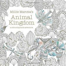 Original English Secret Garden Animal Kindom Coloring Book Adult Children Stress Relieve Graffiti Painting Drawing