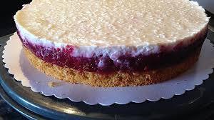 himbeer kirsch joghurt torte