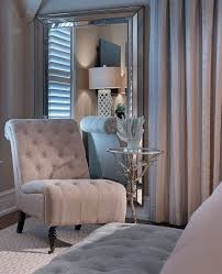 In A Corner Of The Master Bedroom Shingle Chair And Small Side Table Adds