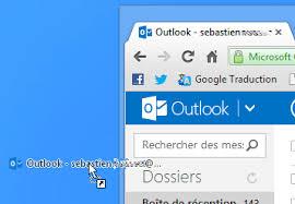 raccourci sur bureau créer un raccourci outlook com hotmail sur le bureau de windows