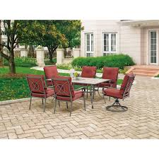 Walmart Patio Dining Chair Cushions by Furniture Cozy Outdoor Furniture Design With Mainstays Patio