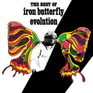 Evolution: The Best Of The Iron Butterfly Album by Iron Butterfly - Vinyl LP