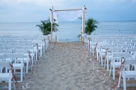 Decorations For Beach Wedding Enjoyable Inspiration 10 Ideas Decoration On With Simple Blue