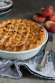 pfirsich pie bake to the roots