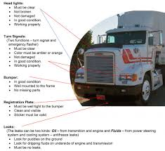 100 Well Trucking The Importance Of Prior To Trip Inspections