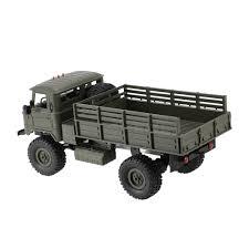 100 Rc Truck Kit Green1 WPL B24 116 RC Military Rock Crawler Army Car