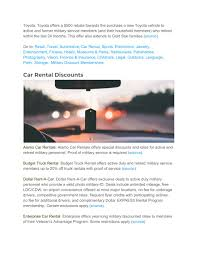 100 Budget Truck Rental Rates PPT Dealhack Military Veteran Discount Guide PowerPoint