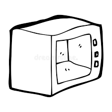 Download Cartoon microwave stock illustration Image of simple