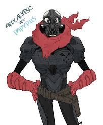 Er PAPYRu Undertale Fictional Character