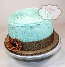 Cake Butter Cream With Fondant Detail Tree Stump