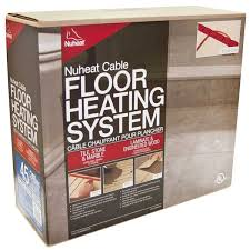Warm Tiles Easy Heat Instructions by Nuheat Cable Floor Heat Kit 120 Volt Contractors Direct
