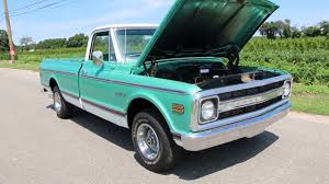 100 Chevy Pickup Trucks For Sale 1970 Chevrolet C10 CST Only 23653 MilesAstounding