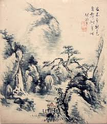 The Basis Of Japanese Painting Tokugava Era Is Formed By Chinese Tradition Later Enriched NatureAncient ArtInk