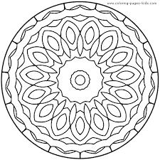 Mandala Free Intricate Coloring Pagesmandala Pages