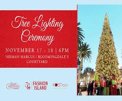 Fashion Islands Annual Holiday Tree Lighting Ceremony