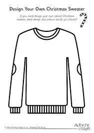 Sweater Coloring Page Create Your Own Book Online Also Design