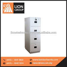 best quality lion fire resistant cabinet 4 drawer fireproof file