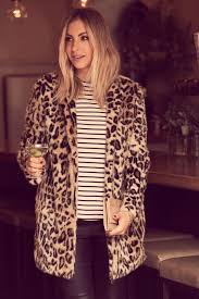 Cupcakes And Cashmere Blog Leopard Print Stripes Combo