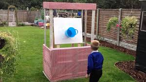 DIY Ball & Bucket Carnival Game (in Pallet Carnival Stall) - YouTube 25 Tutorials For A Diy Carnival The New Home Ec Games 231 Best Summer Images On Pinterest Look At The Hours Of Fun Your Box Could Provide With Game Top Theme Party Games For Your Kids Backyard Lollipop Tree Game Put Dot Sticks Some Manjus Eating Delights Carnival Themed Birthday Manav Turns 4 240 Ideas Dunk Tank Fun Summer Acvities Outdoor Parties And Best Scoo Doo Images Photo With How To Throw Martha Stewart Wedding Photography By Vince Carla Circus