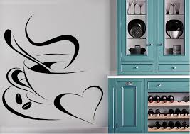 Kitchen Coffee Love Wall Stickers