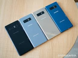 Galaxy Note 8 Color Choices