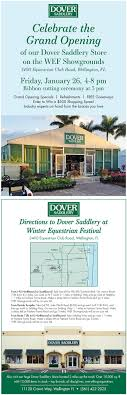 100 Wellington Equestrian Club Upcoming Events Dover Saddlery Grand Opening Palm Beach