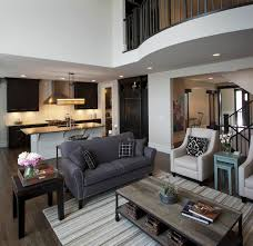 kalimar homes aspen transitional living room calgary by a