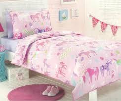pony bedding for girls bedroom pony park horses pink girls