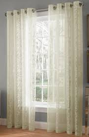 Sheer Curtains At Walmart by Royale Lace Curtains U2013 White U2013 Lorraine White Curtains