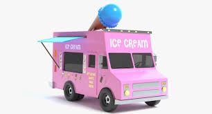 100 Ice Cream Truck Number 3D Ice Cream Truck Model TurboSquid 1206334