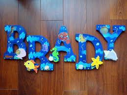 Finding Nemo Crib Bedding by Baby Nursery U0026 Kid U0027s Room Hanging Wood Under The By Babysownspace