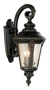 trans globe lighting 5044 rt outdoor commons 25 wall lantern