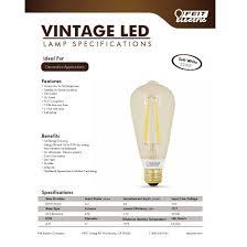 edison vintage led bulb 60 watt equivalent led light bulbs