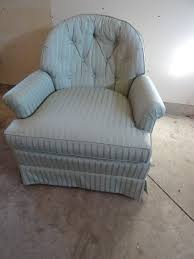sherill furniture cushioned chair k c auctions paynesville