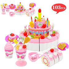 großhandel 39 103 stücke pretend play küche simulierte lebensmittel obstkuchen spiele mit schneiden geburtstag kuchen sets spielhaus spielzeug für