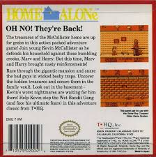 Home Alone Box Shot for Game Boy GameFAQs