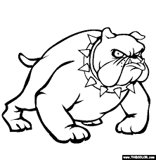 Brilliant Ideas Of Bulldog Coloring Pages Printable In Sheets