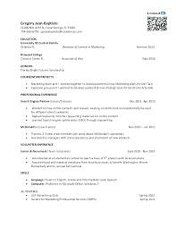 Mcdonalds Resume Sample Best Solutions Of Cover Manager College Student