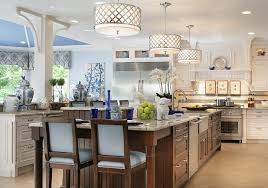 drum pendant lighting dining room traditional with beige ceiling