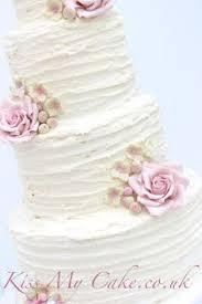 Closer Lookrustic Buttercream Wedding Cakekissmycakeco