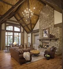Awesome Rustic Living Room Ideas Fancy Interior Home Design With 46 Stunning