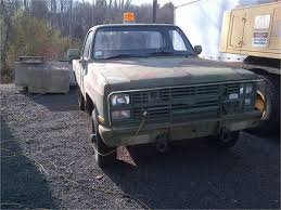 1986 Chevrolet D30 Military Pickup Truck (CUCV) For Auction | Municibid