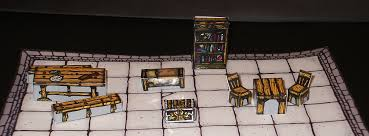 Making 3d Dungeon Tiles by Inked Adventures 3d Furniture For Dungeons Inked Adventures
