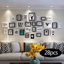 unbekannt bilderrahmen set fotowand hölzerne fotorahmenwand einfache wohnzimmerwand fotorahmenhauptkombination sofa hintergrundwand fotorahmen