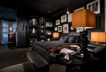 schwarze decke im raum originelle und elegante