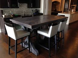 Reclaimed Chevron Dining Room Table