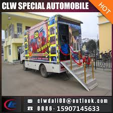 China 5D Mobile Movie Screening Truck, Mobile Cinema With Cheap ...