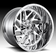 100 Chrome Truck Wheels Fuel Triton D210 2pc Custom Rims Fuel 2PC Custom